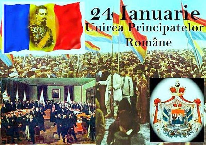 ZIUA UNIRII, 24 IANUARIE, MARCATĂ SÂMBĂTĂ ȘI LA BISTRIȚA !
