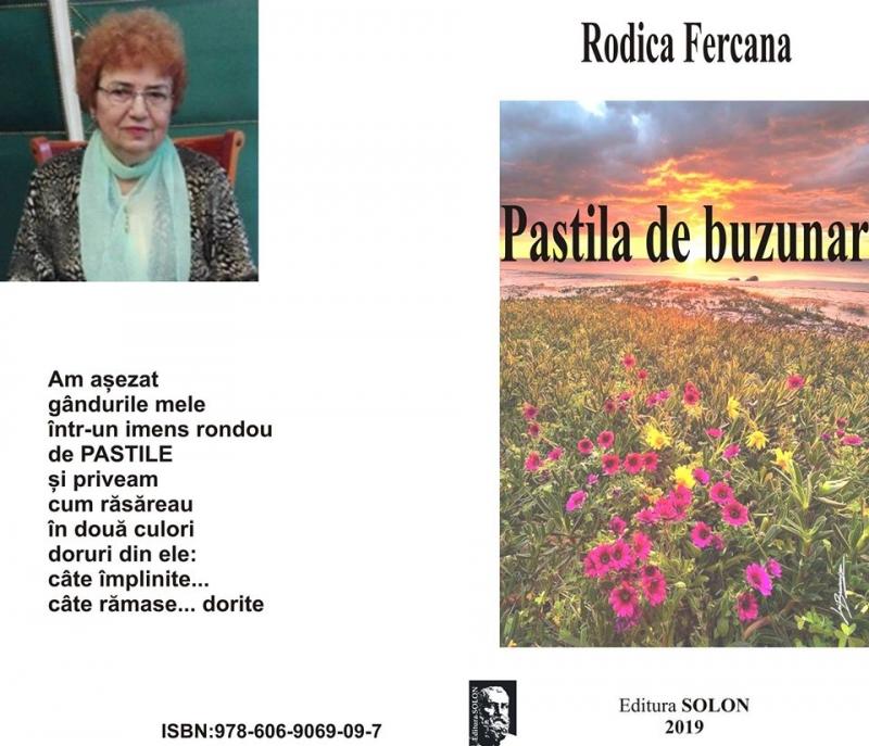 RODICA FERCANA - PASTILA DE BUZUNAR, EDITURA SOLON, BISTRIȚA, 2019