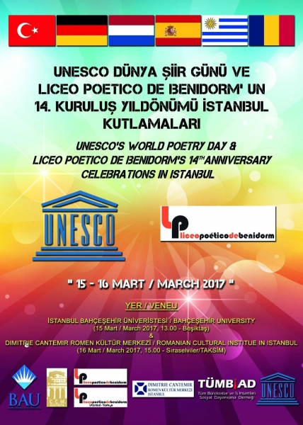 TREI SCRIITORI BISTRIȚENI, SUB EGIDA UNESCO, LA ICR ȘI UNIVERSITATEA DIN ISTANBUL