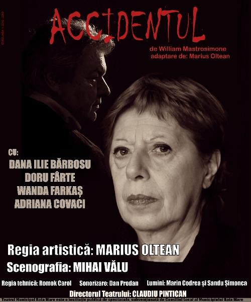 STAGIUNEA TEATRALĂ BISTRIȚA - 2015 !