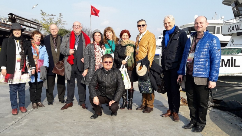 RECITAL DE POEZIE BISTRIȚEANĂ LA UNIVERSITATEA DIN ISTANBUL