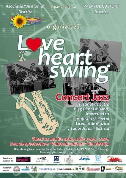"""LOVE HEART SWING"" LA PALATUL CULTURII!"