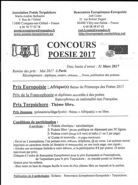 Rencontres europeennes europoesie