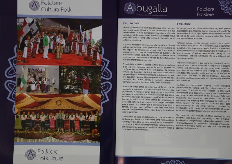 """ACTIVITATEA CENTRULUI CULTURAL MUNICIPAL DIN BISTRIȚA ÎN PAGINILE REVISTEI """"ABUGALLA"""""""