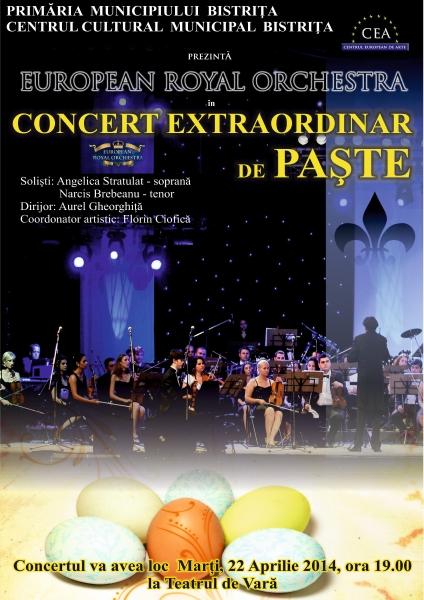 Concert Extraordinar de Paste - in transmisiune directa de la Teatrul de Vara