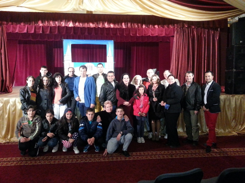 Delegaţie culturală din Bulgaria la Centrul Cultural Municipal Bistriţa