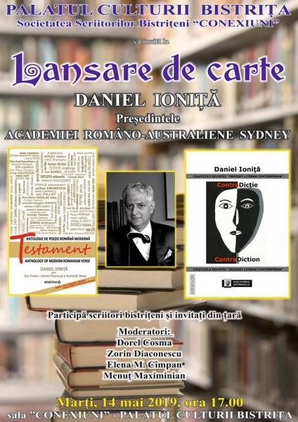 LANSARE DE CARTE - DANIEL IONIȚĂ !