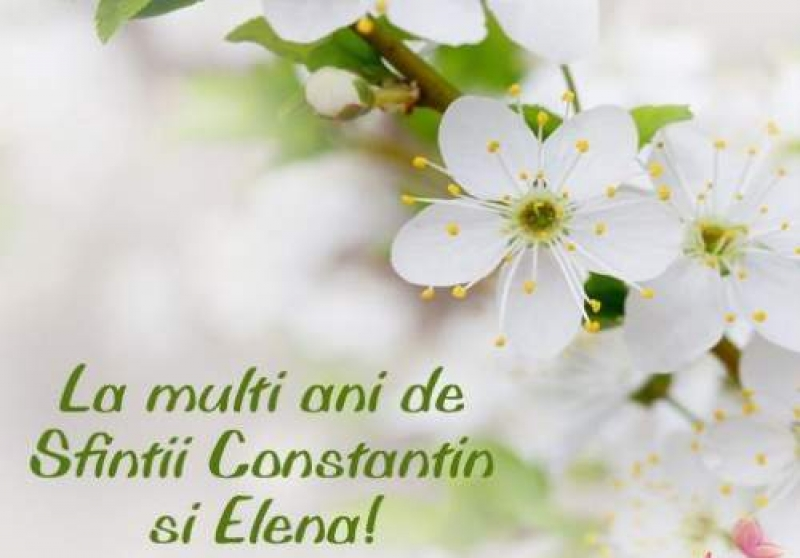 LA MULŢI ANI, ELENA ŞI CONSTANTIN!