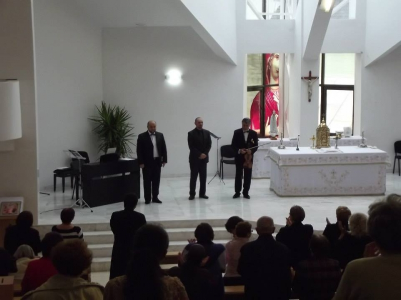 """""""Trio Clasic"""" la Biserica Greco-Catolica Bistrita"""