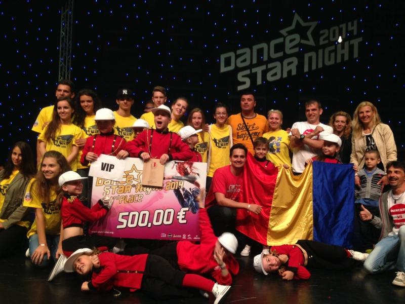 DUBLĂ PERFORMANŢĂ PENTRU X-STYLE KIDS LA COMPETIŢIA MONDIALĂ DANCE STAR FINALS-WORLD DANCE MASTER 2014