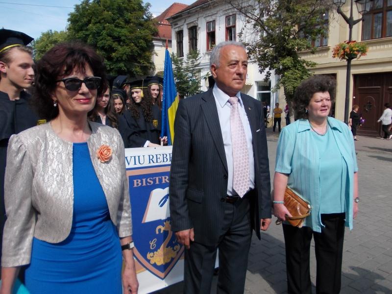 """CEA MAI FRUMOASĂ FESTIVITATE A COLEGIULUI NAŢIONAL """"LIVIU REBREANU"""""""