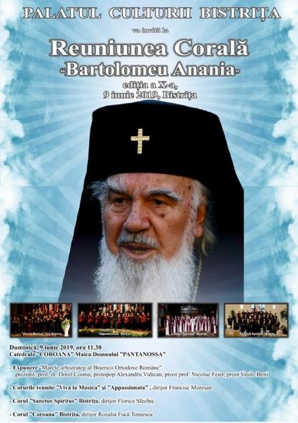 "REUNIUNEA CORALĂ ""BARTOLOMEU ANANIA"", EDIȚIA A- X -A!"