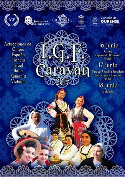 CARAVANA IGF - EDIȚIA A V-A - OURENSE, SPANIA !