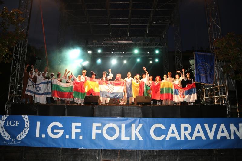 CARAVANA FOLCLORICĂ I.G.F. A AJUNS IN SPANIA - OURENSE