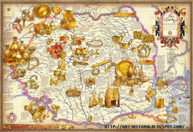 PĂMÂNTUL STRĂVECHI AL ROMÂNIEI
