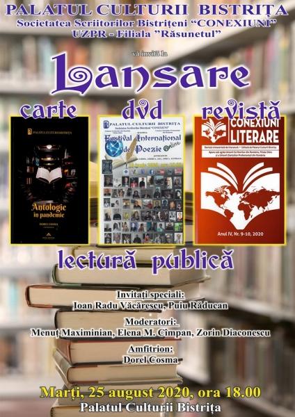 LANSARE DE CARTE, DVD, REVISTĂ!