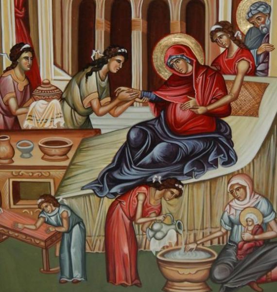 SFÂNTA MARIA MICĂ. LA MULȚI ANI TUTUROR CELOR CE POARTĂ NUMELE SFINTEI FECIOARE  MARIA !