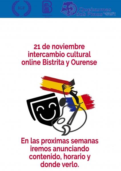 SCHIMB CULTURAL ONLINE ROMÂNIA-SPANIA, 21 NOIEMBRIE 2020!