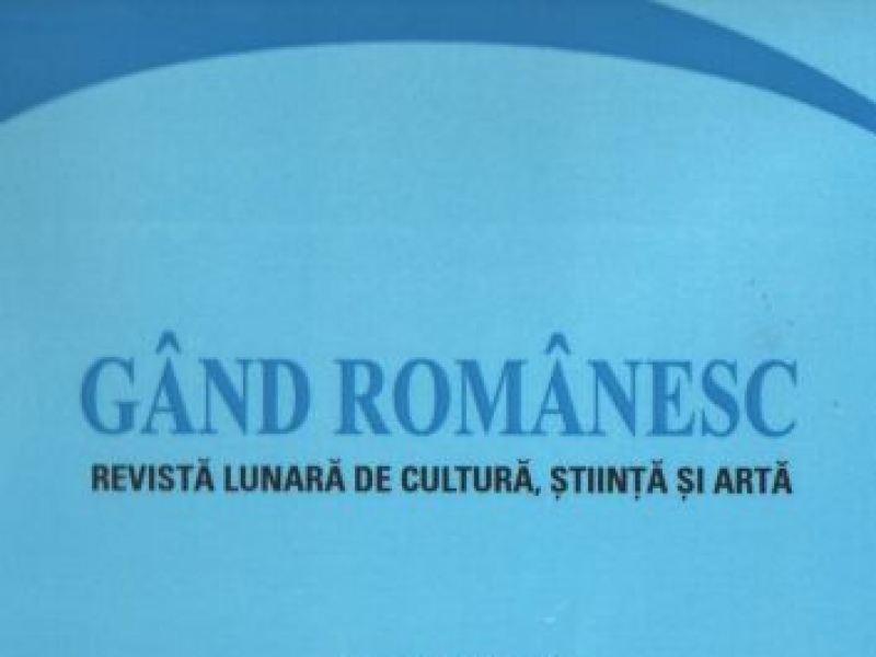 """""""GÂND ROMÂNESC"""" , LA 300 DE NUMERE"""