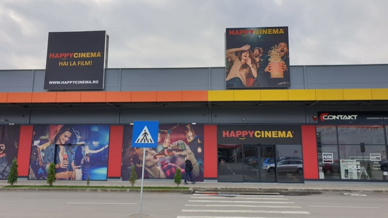 HAI LA MALL! S-A DESCHIS NOUL CINEMATOGRAF HAPPYCINEMA !