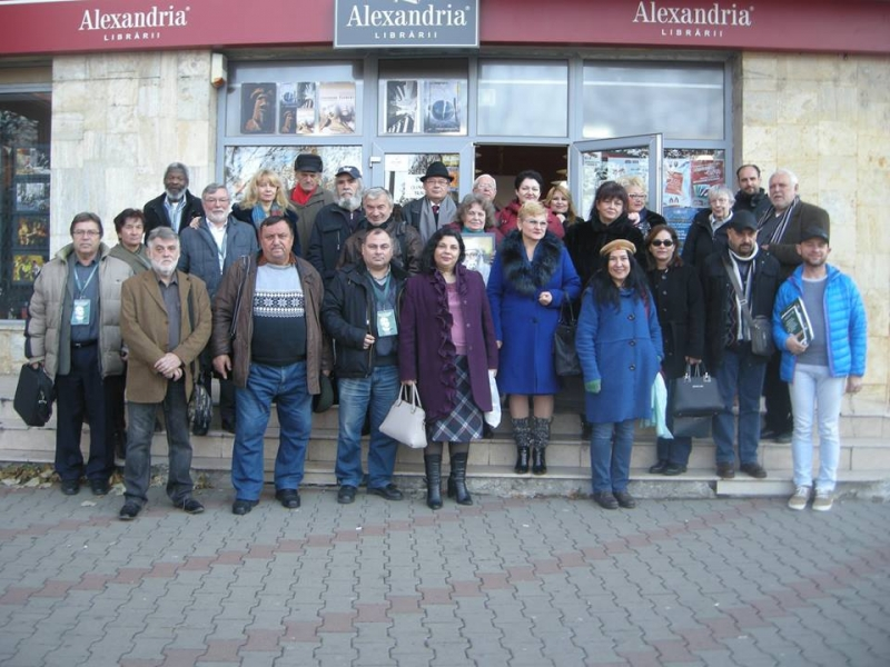 LIBRĂRIILE ALEXANDRIA: EXPOZIȚIE LUCIAN DOBÂRTĂ ȘI LANSAREA ANTOLOGIILOR ROMÂNO-TURCE