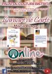 LANSARE DE CARTE ONLINE, LA PALATUL CULTURII BISTRIȚA !