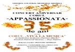"""CONCERT ANIVERSAR - CORUL """"APPASSIONATA"""" LA 35 E ANI"""