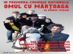 """COMEDIA """"OMUL CU MÂRȚOAGA"""" - LUNI, 28 NOIEMBRIE 2016"""