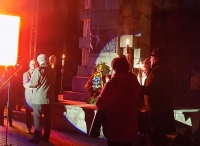 DEȘTEAPTĂ-TE ROMÂNE - UN SPECTACOL OMAGIAL LA STATUIA LUI ANDREI MUREȘANU, LA 200 DE ANI DE LA NAȘTERE. MEDALIA ANDREI MUREȘANU PENTRU SCRIITORII BISTRIȚENI